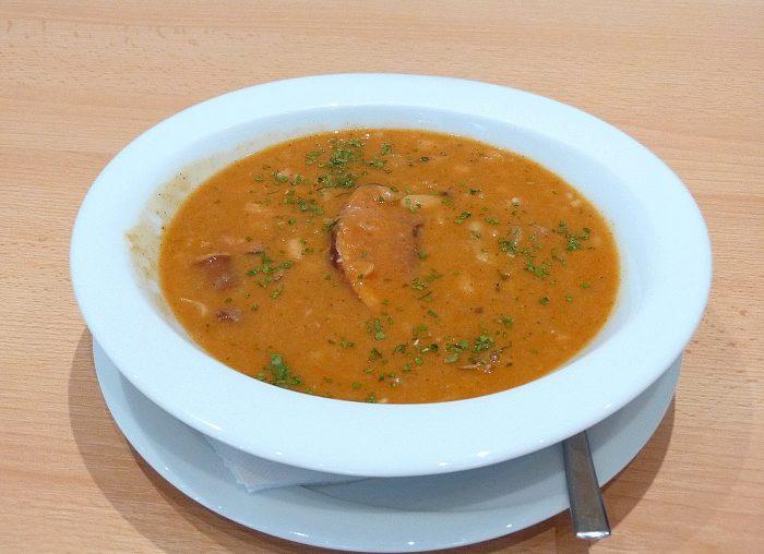 Bohnensuppe, Pasulj